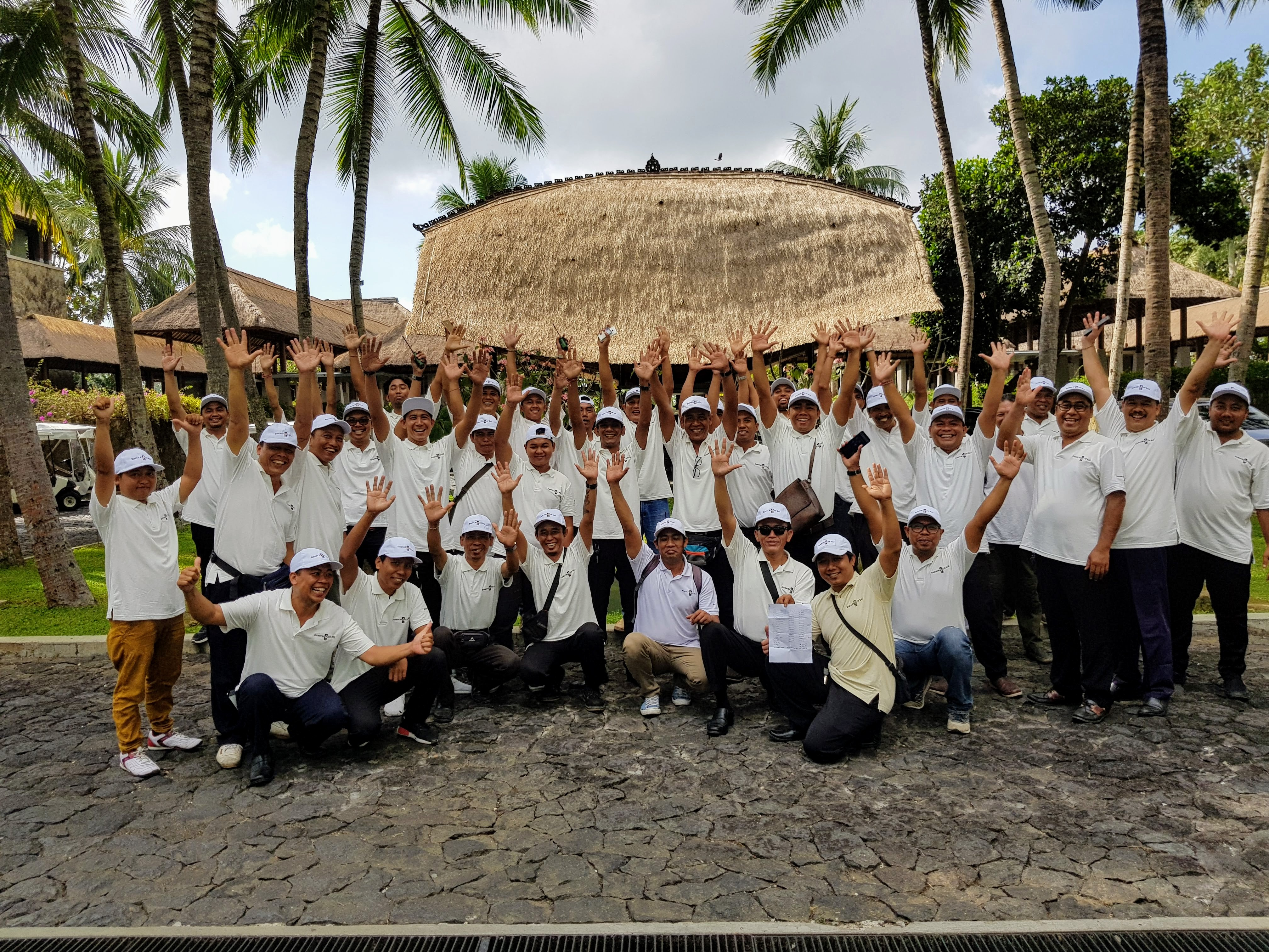Essence of Bali Staff in working mode